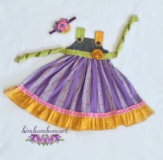 Purple Love Dress