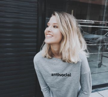Retrobird Antisocial Top
