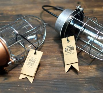 Industrial Caged Bulb