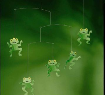 The Happy Frog Mobile