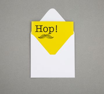 Exclamation Cards - Hop!