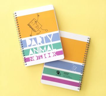 NoteBOOK Notebooks - Party Animal