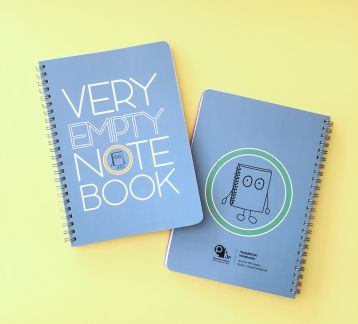 NoteBOOK Notebooks - Very Empty