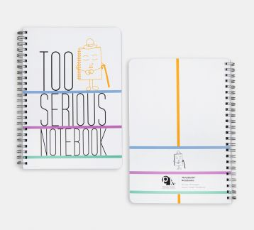 NoteBOOK Notebooks - Too Serious