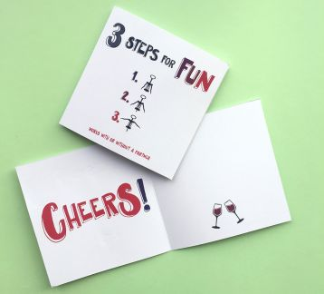 Celebration Cards - Wine