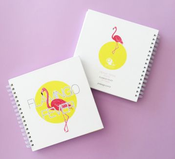 Hipster Series Notebooks - ICONS: FLAMINGO FEVER