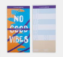 Realistic Notepads - No Good Vibes