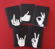 Talk to the Hand Notebooks - Rock n Roll