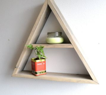 Kamppi Üçgen Raf | Kamppi Triangle Shelf