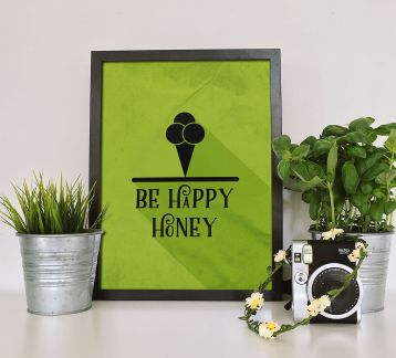 Be Happy Honey | Poster