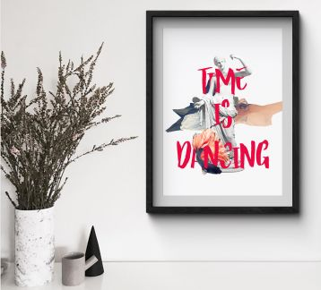 Time Is Dancing | Poster