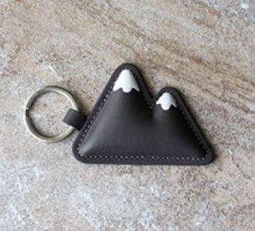 Every.cool - leather keychain