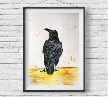 Blackbird İllustration