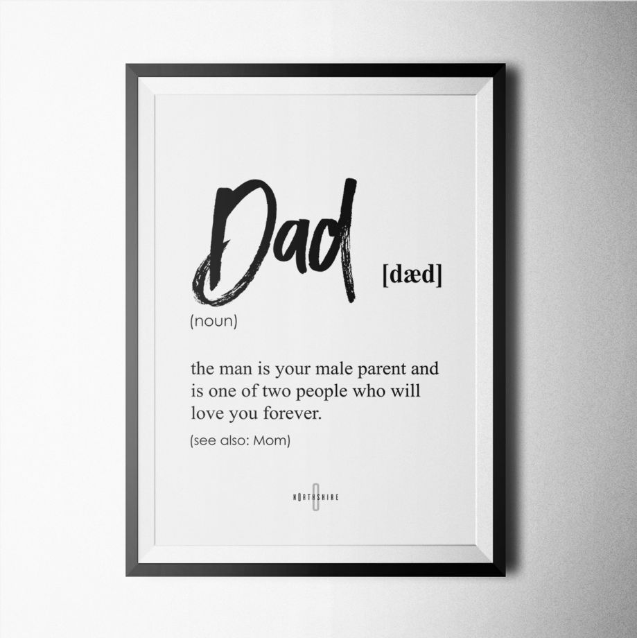 Dad Poster