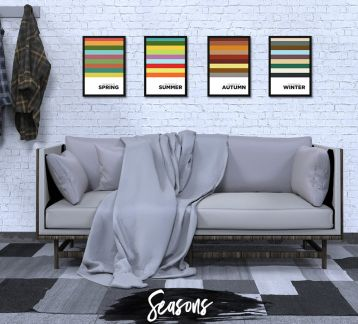 Seasons Poster Set