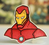 Iron Man Broş