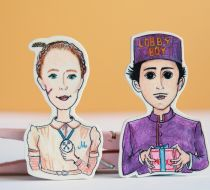 The Grand Budapest Hotel Broşları