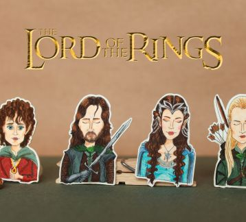 Lord Of The Rings Broş