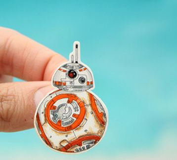 BB-8 Droid (Star Wars) Broş