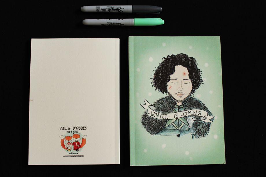 Game Of Thrones-Jon Snow Defter