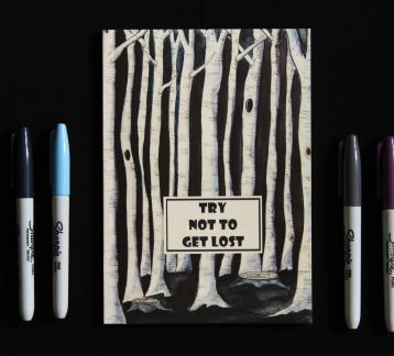 Try Not To Get Lost Defter