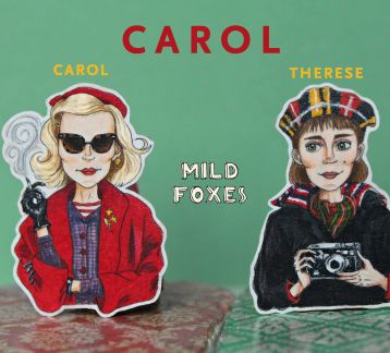 Carol- Therese Broşları( Carol movie)