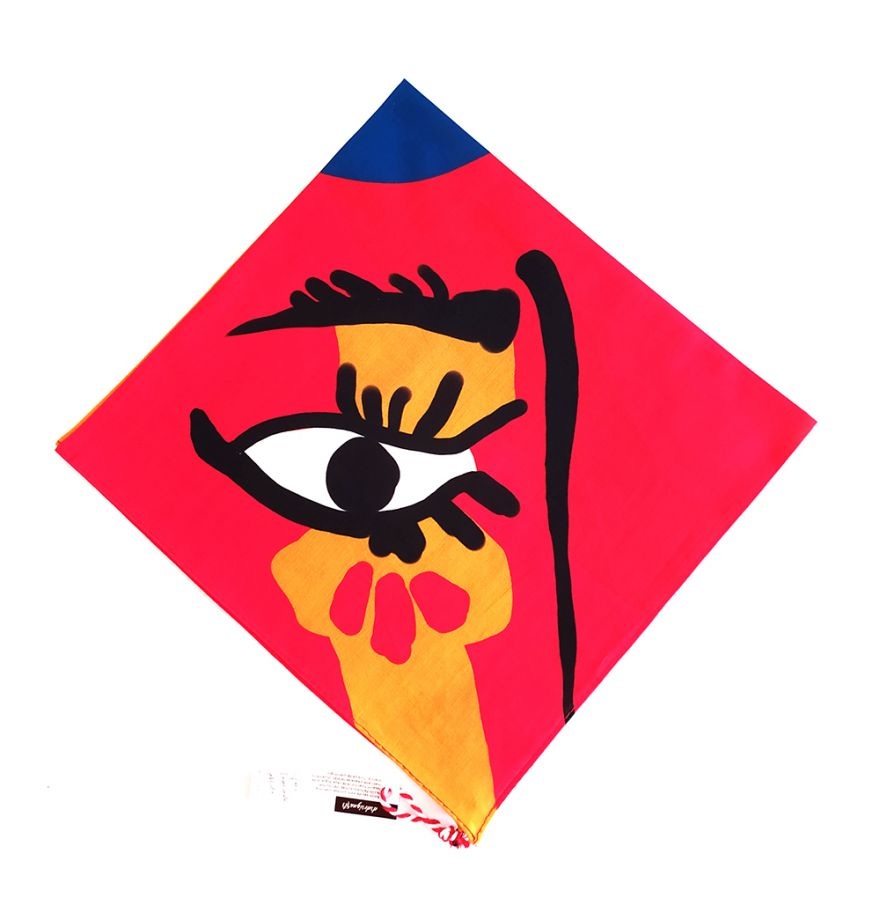 Woman in a Hat Picasso Collection Bandana