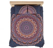 ASHA  MANDALA TAPESTRY & PILLOW SET