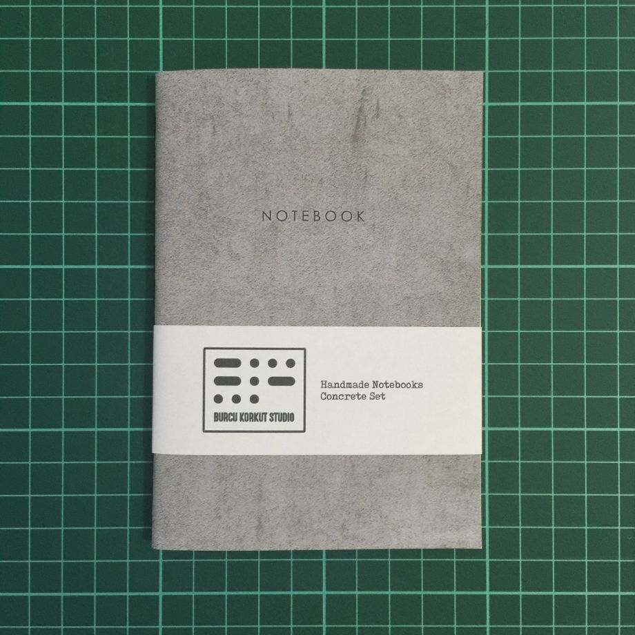Handmade Notebook - Concrete #1