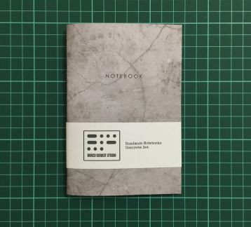 Handmade Notebook - Concrete #3