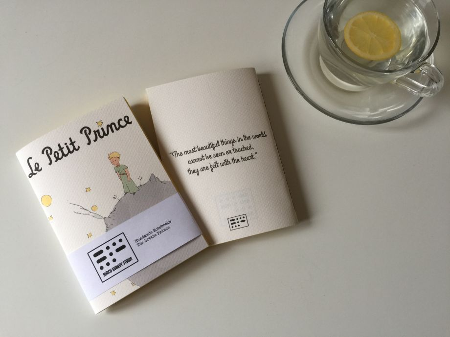 Handmade Notebook - The Little Prince #3