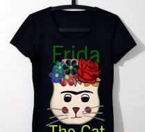 Frida The Cat  Siyah