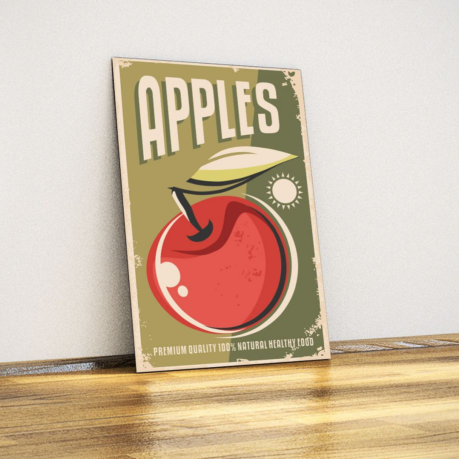 Apples - Metal Poster
