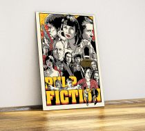 Pulp Fiction - Metal Poster