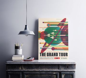 The Grand Tour - Metal Poster