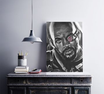 Deadshot - Metal Poster