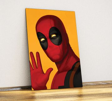 Deadpool - Metal Poster