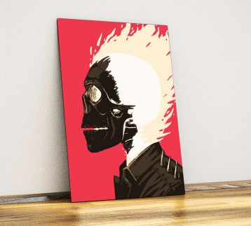 Ghost Rider - Metal Poster