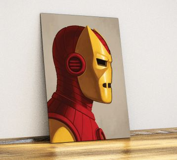 Iron Man - Metal Poster