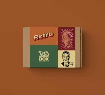 RETRO MAN BOX - LET'S BOX
