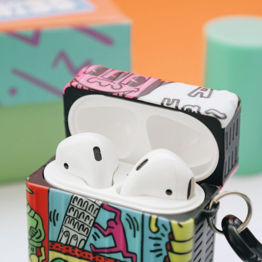 Graffiti Airpods 1-2 Kılıfı