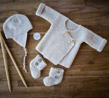Luxury Newborn Set With Silk & Cashmere