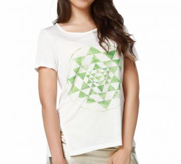 Mumu Triangles Women T-shirt