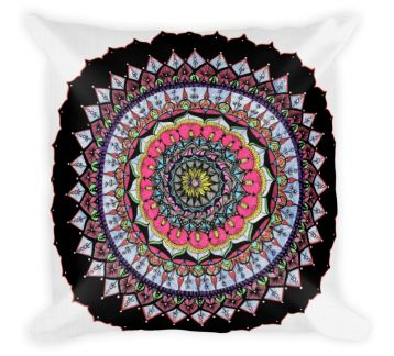 Mumu Mandala IV Throw Pillow