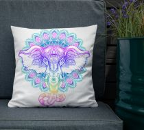Mumu Fill Throw Pillow