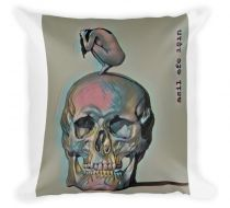 Mumu Mommo Throw Pillow