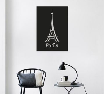 Paris Metal Tablo