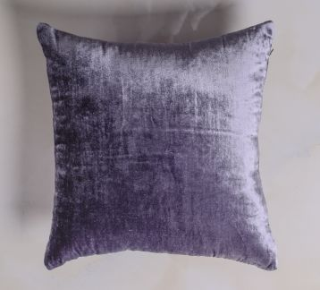Silk Velvet Grey Pillow