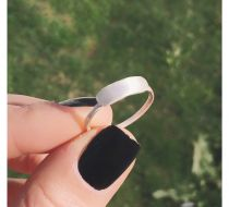 Blank Silver Ring