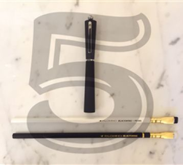 Mazzuoli 10th Year  Ballpoint  Pen & Palomino  Blackwing